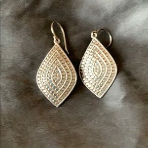 Anna Beck Jewelry - Anna Beck Sterling Silver Diamond Shaped Earrings